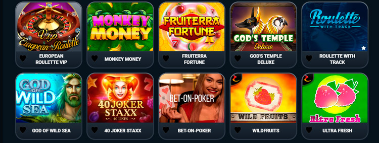 popular slots in India